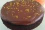 Chocolate JAFFA Cake with Choc Orange Ganache
