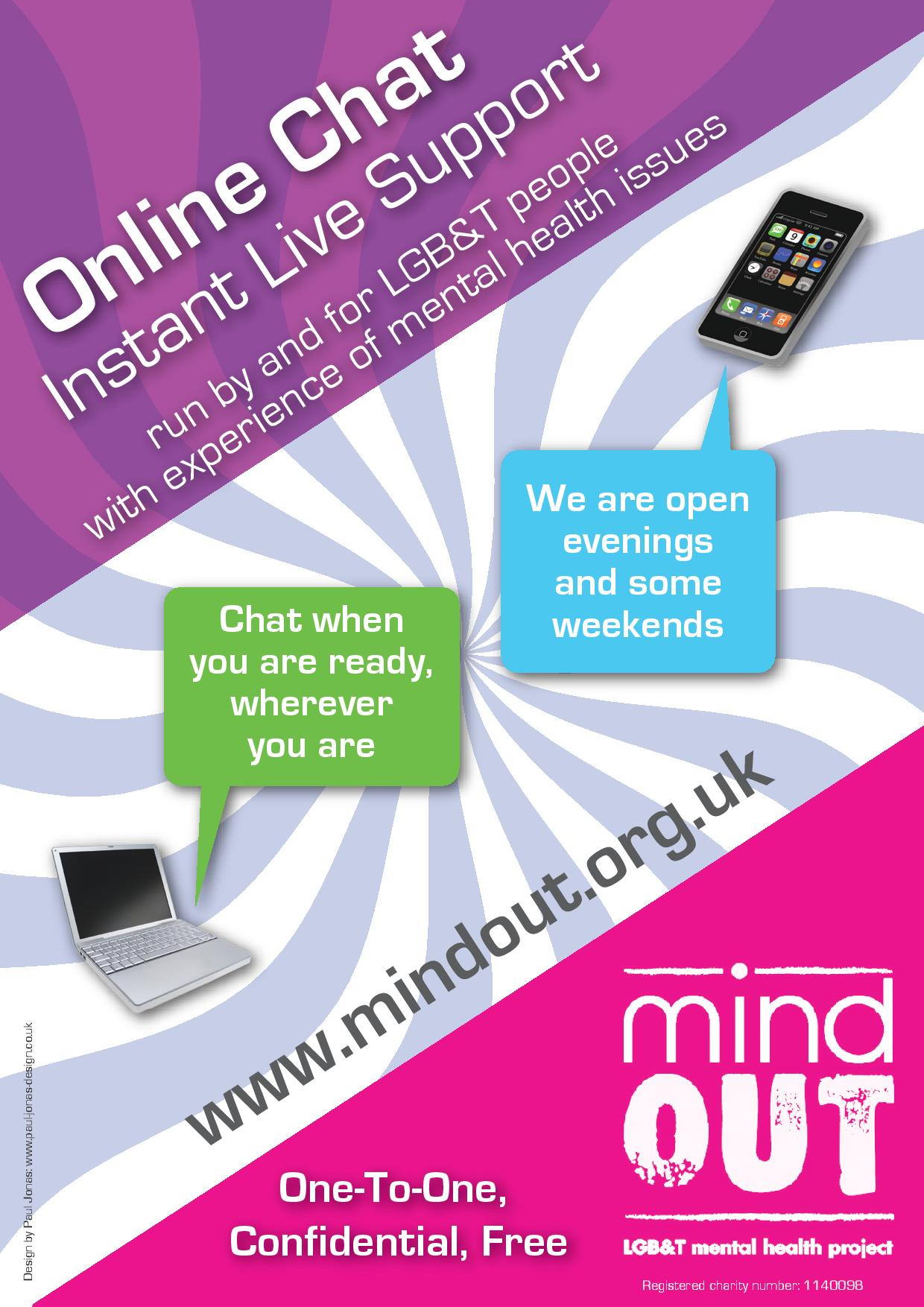 Mind Out Online Chat Mind Brighton And Hove