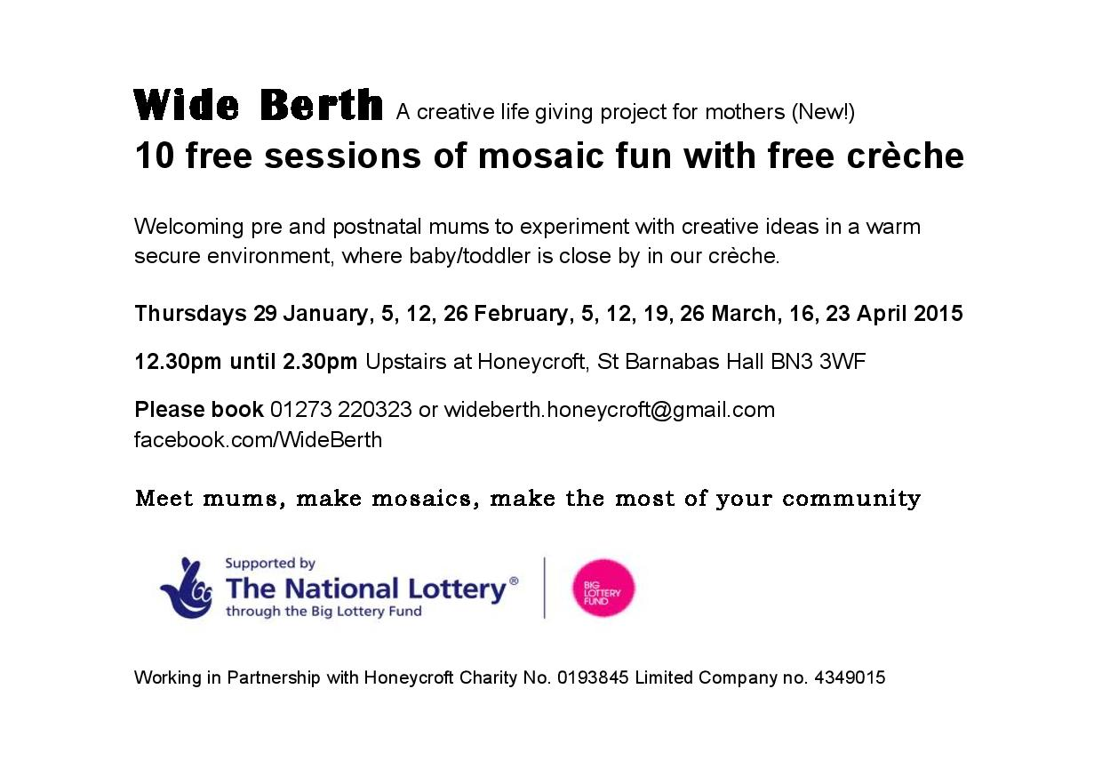 Wide Berth - New Community Group for Mum-to-be and mothers