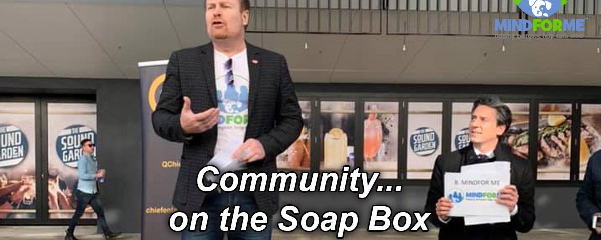 Community... on a Soap Box