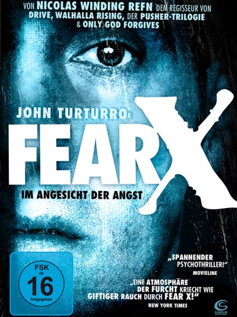 DVD-Cover Fear X