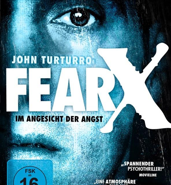 DVD-Cover Fear X