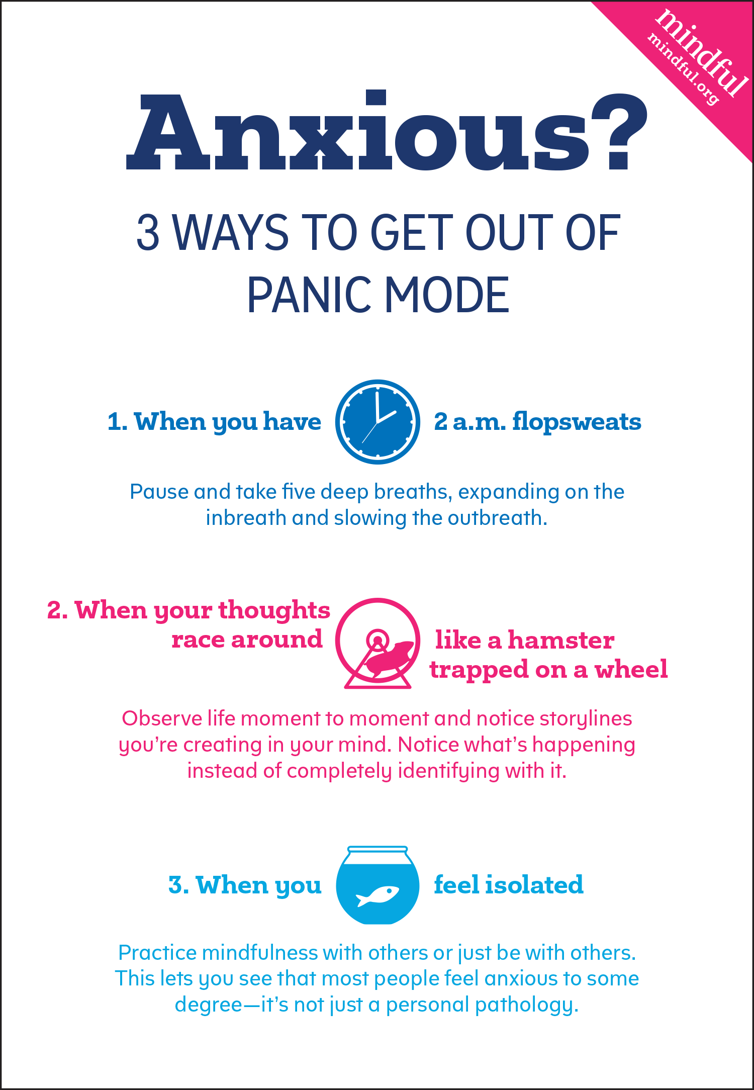 Anxious Three Ways To Get Out Of Panic Mode