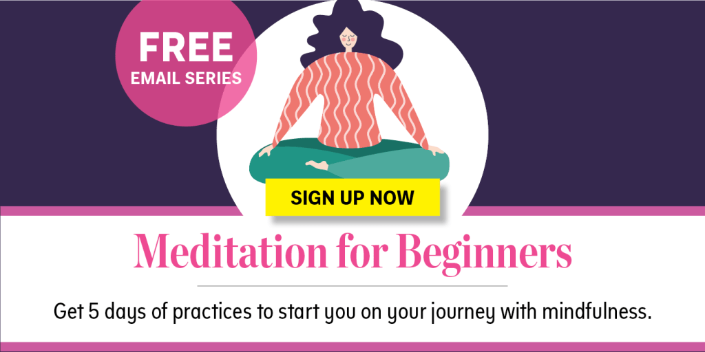 Meditation for beginners free email series