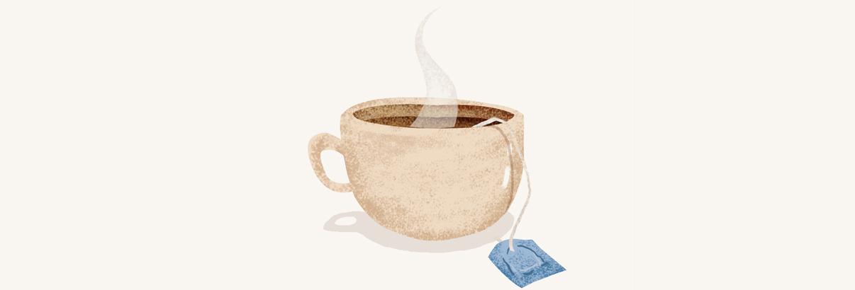 illustration of a teacup