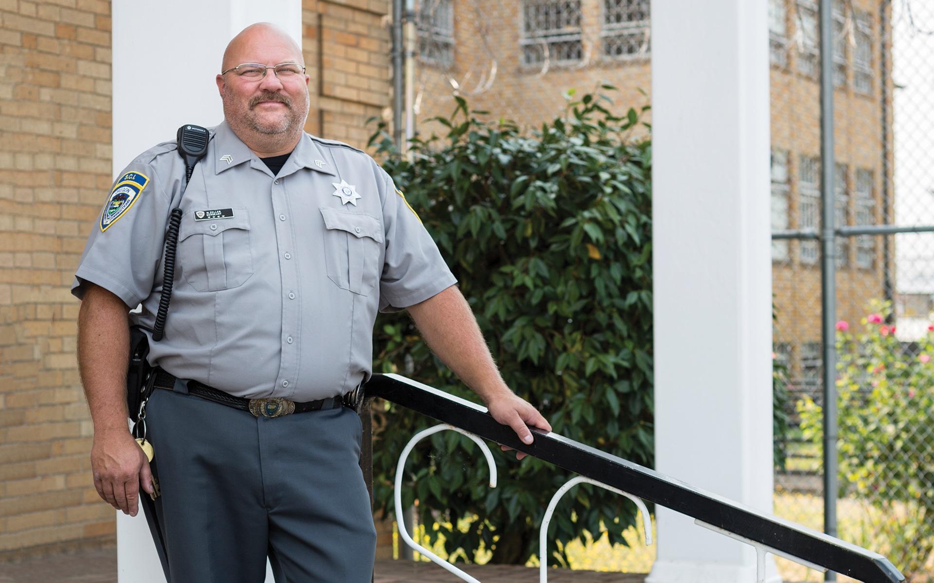 Matthew Zeller, corrections officer