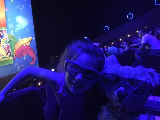 Dreaming - At the IMAX, all ready for 3D BFG