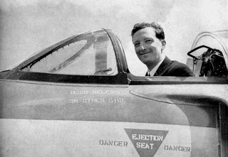 September 1954: Mike Lithgow - Test Pilot