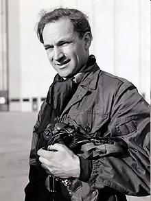 September 1954: Peter Twiss - Test Pilot.