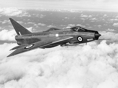 September 1954: English Electric Lightning.