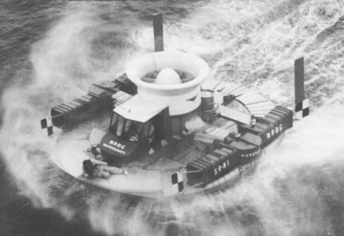 September 1954: The First Hovercraft.
