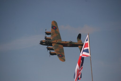 September 1954: Lancaster. Battle of Britain Memorial Flight.