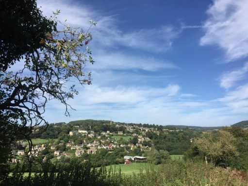 Laurie Lee Poetry Posts - Painswick from Swift's Hill