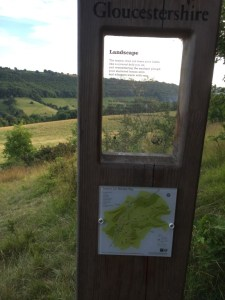 Laurie Lee Poetry Posts: Slad slope - Landscape