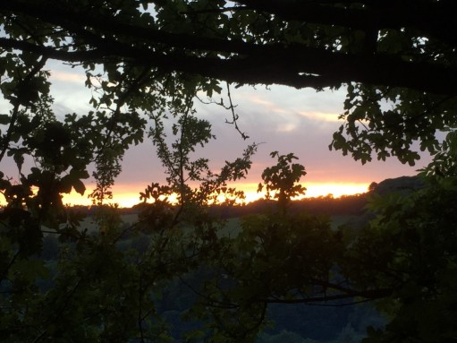 Laurie Lee Poetry Posts: Painswick from Swift's Hill….. at the end of the walk