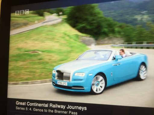 Bobby 2: The Best Car in the World. A Rolls Royce Dawn with Michael Portillo.