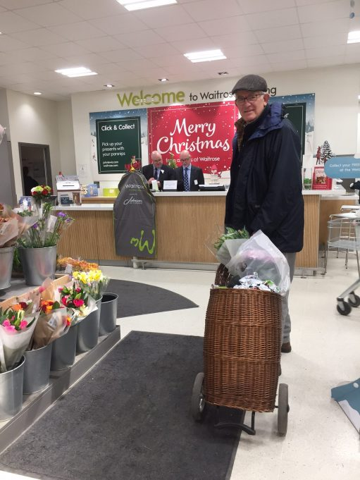 Bobby 2: Shopping in Waitrose.