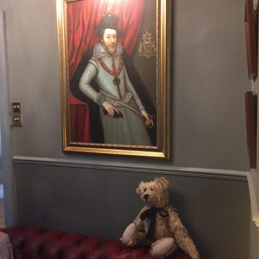 Middlesbrough: Bertie at Ruswarp Hall.