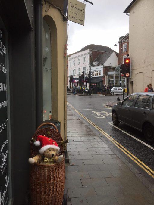 Old Bears - West Street, Dorking.Victoria's Underwear Shop.
