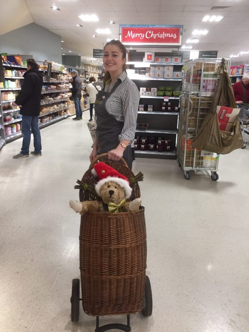 Old Bears - Eve and Bobby 2 in Waitrose.