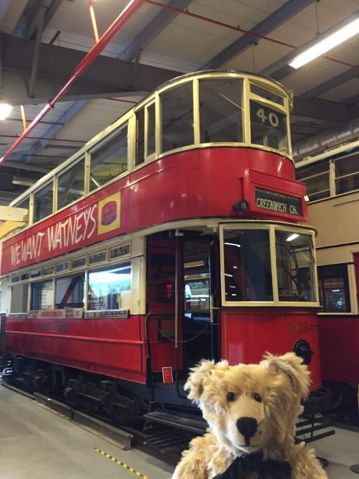 London Transport Museum: One of the last London Trams.