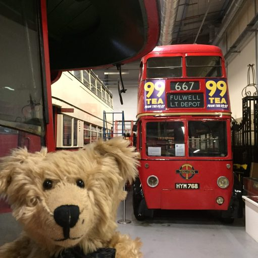 London Transport Museum: HYM 768. A Trolley bus. Class Q1 1948 BUT 9641T, Metro-Cammell 70-seater body.