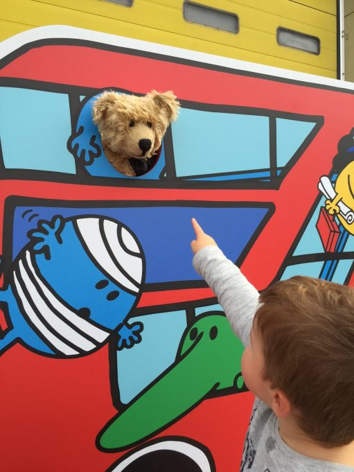 """London Transport Museum: """"Mummy… there's a bear up there!'"""