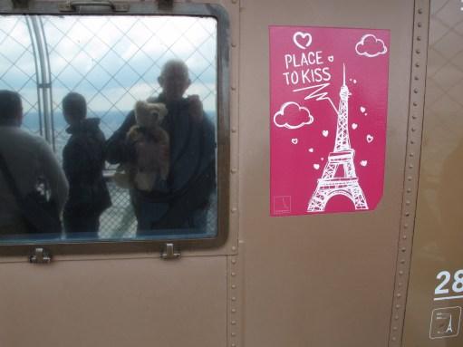 Paris: Self Portrait on the Eiffel Tower!