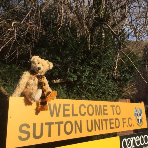 Sutton United: Welcome to Sutton United.