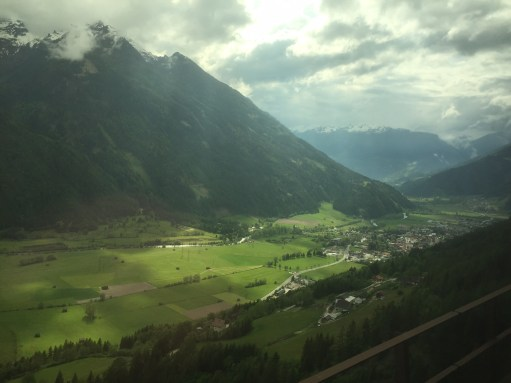 Austria: Nearing Spittall for Millstater am Zee. An unforgettable train ride.