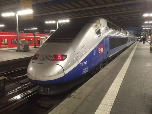 Paris to Munich: Double Deck TGV.