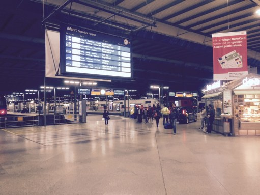 Paris to Munich: Muenchen HBF
