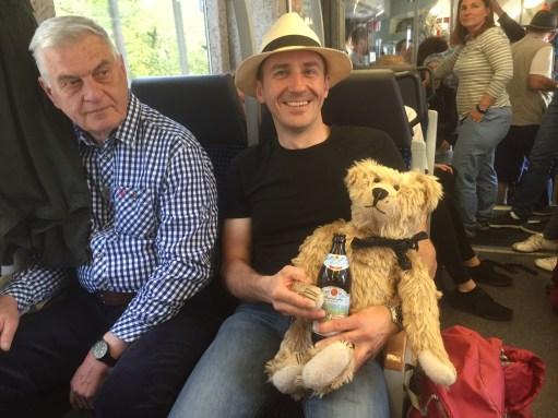Paris to Munich: Gerhard… English football enthusiast extraordinaire.