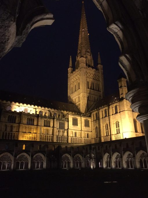 Suffolk: Norwich Cathedral.