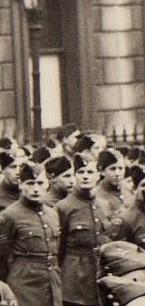 Ernie's War: Ernie (middle, front).