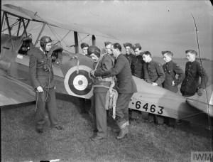 Ernie's War: De-Havilland Tiger Moth at Biggin Hill IWM CH5030.