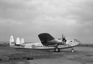 Ernie's War: Avro York C Mark 1 No 511 Squadron at RAF Lyneham IWM (CH16488).
