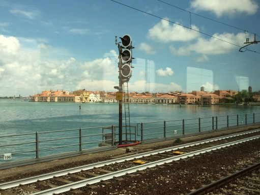 Brief Encounters: Coming into Venice.