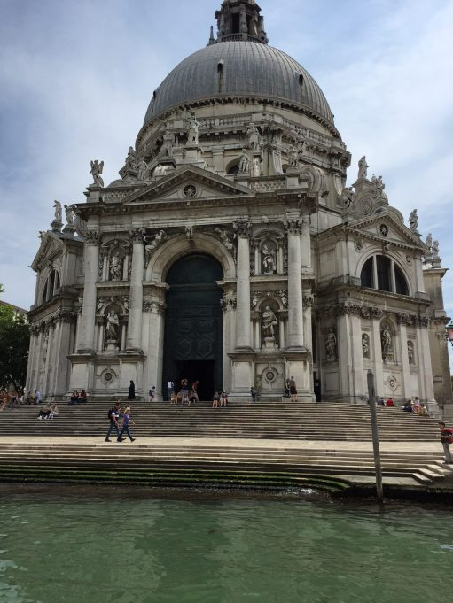 Brief Encounter: Lighting a Candle for Diddley: Santa Maria della Salute.