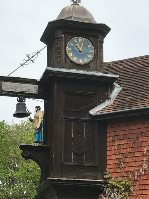 The Bench: Abinger Roughs - The Famous Clock.
