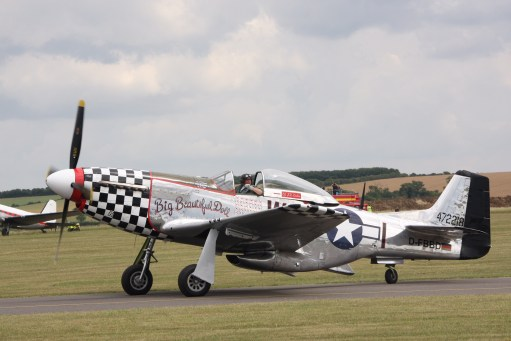 Big Beautiful Doll photographed at 2011 Flying Legends.