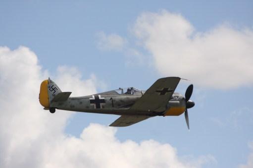 Flying Legends Duxford. Focke Wulf 190.