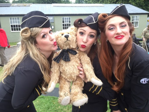 "Flying Legends Duxford. New Supergroup: ""Bertie & the Manhattan Dolls""! What do you think?"