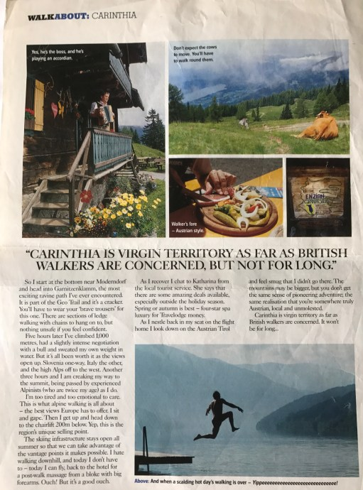 Lammersdorf: Country Walking Magazine - Hidden Austria.