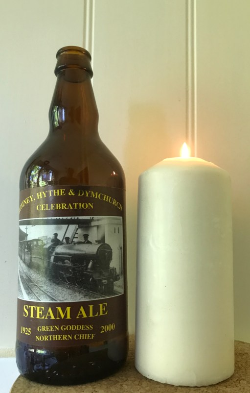 Oh Mr Porter - Lighting a Candle for Diddley: Romney Hythe & Dymchurch Steam Ale.