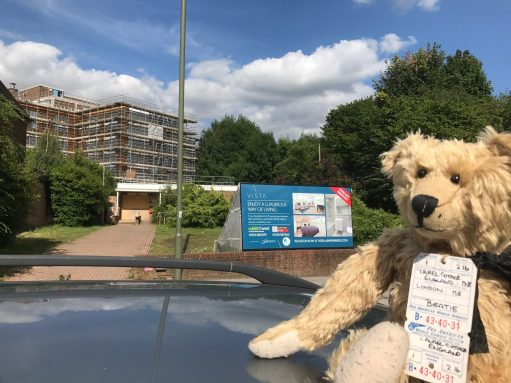 "Mindfully Bertie: ... ""And here, Ladies & Gentlemen"" is the former home of the Highways Agency, and where a legend was born (or something like that!). Ahahahaha"