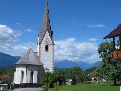 Bobby Ballcock - Lighting a Candle for Diddley: Church of Maria Schnee, Matzeldorf. Austria.