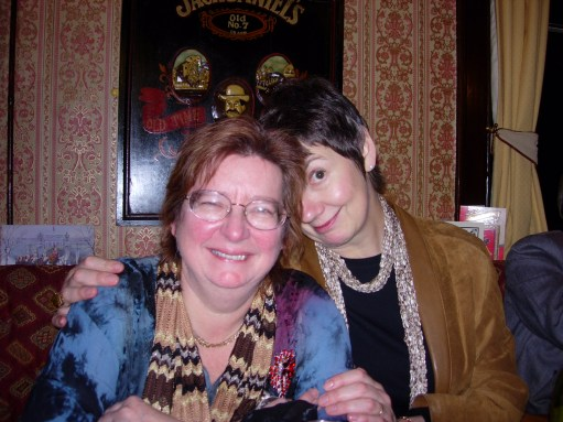 Diddley Tribute: With Maxine.
