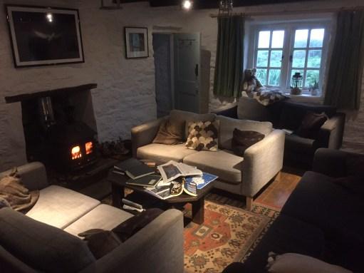 Kenny Birdringer: Lighting a Candel for Diddley - Inside Lockley's Cottage.