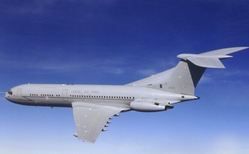 Brooklands: As a civilian airliner the VC10 had a relatively short life, but the RAF (seen here) flew them in a variety of roles for fifty years. Right up to 2012.